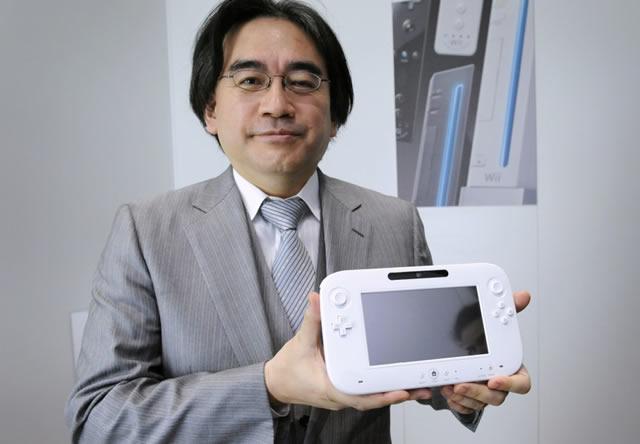 Wii U satoru iwata