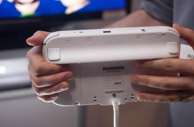 Wii u controller back