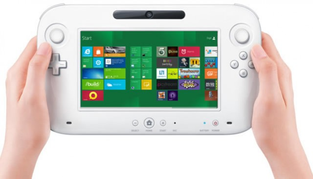 Wii U user interface