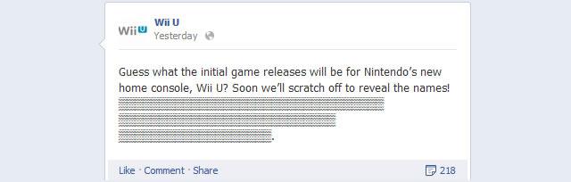 Wii U teaser
