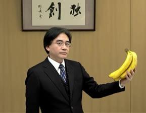 Wii U Iwata bananas