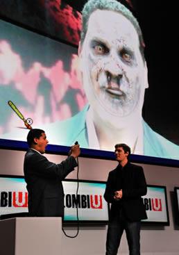 Reggie Zombie Wii U