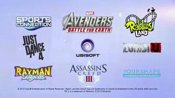Ubisoft Wii U