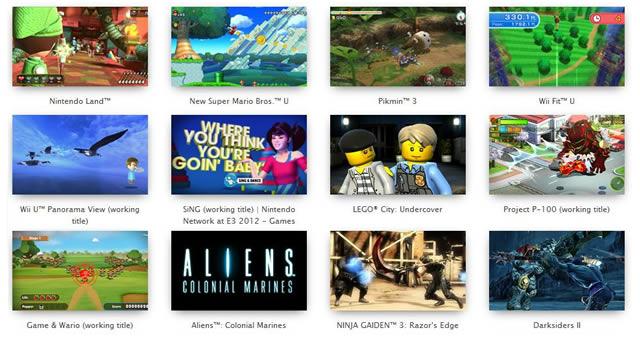 Used Wii U games