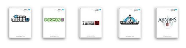 Wii U game pre-oders