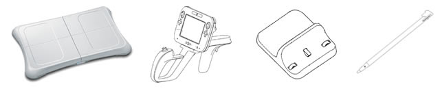 Wii U GamePad accessories