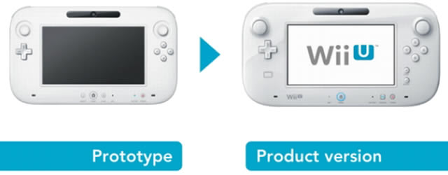 Wii U GamePad controller old vs new