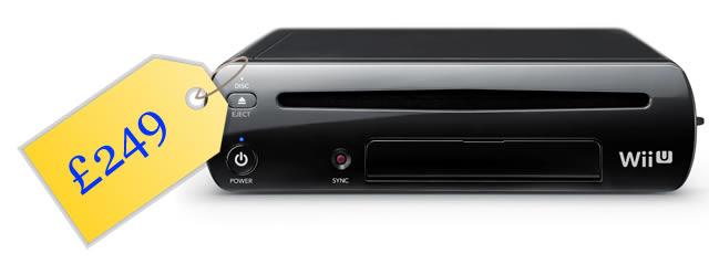 Wii U price tag