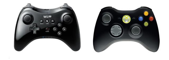 Wii U Pro controller Xbox 360
