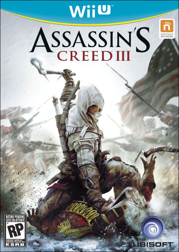 Assassin's Creed 3 Wii U box art