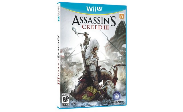 Assassins Creed 3 Wii U box