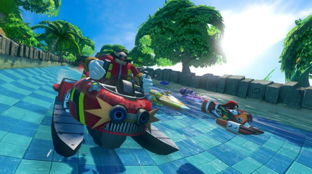 Sonic And All Stars Racing Transformed Wii U