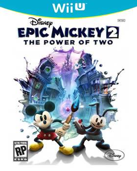 Epic Mickey 2 Wii U box