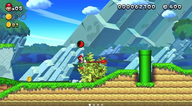 New Super Mario Bros U screenshots