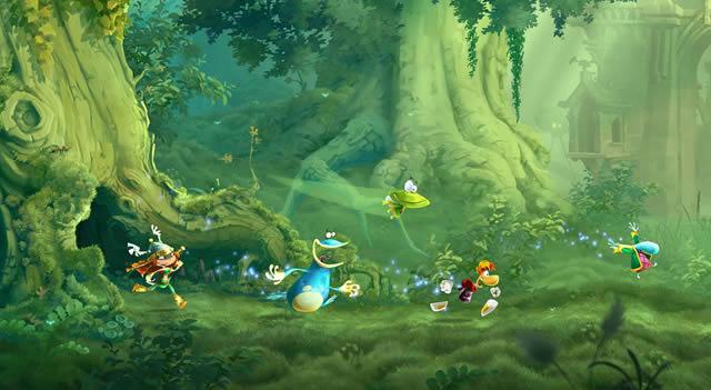 Rayman Legends Wii U