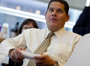 Reggie on Wii U