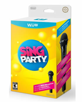 Sing Party Wii U box