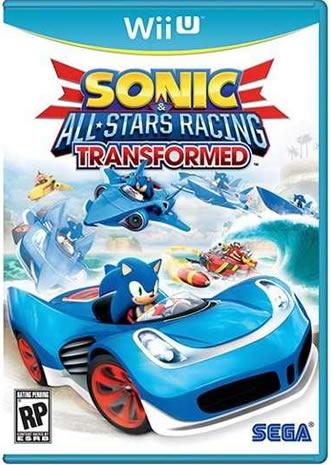 Sonic Wii U box art