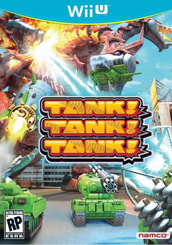 Tank Tank Tank Wii U box art