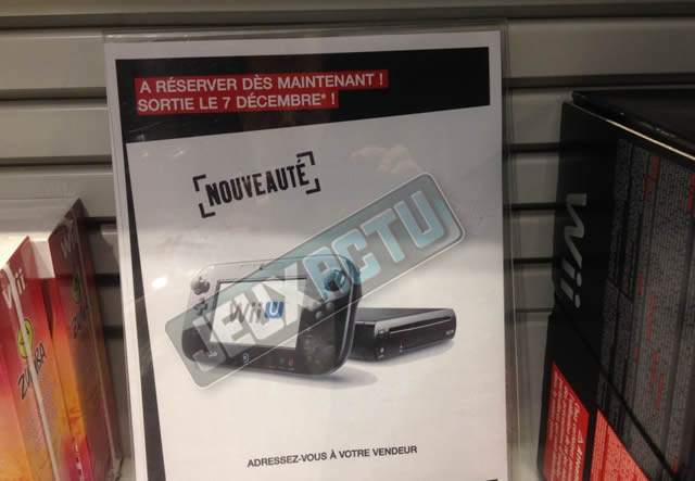 Wii U France