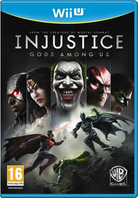 Injustice Gods Among Us Wii U box art