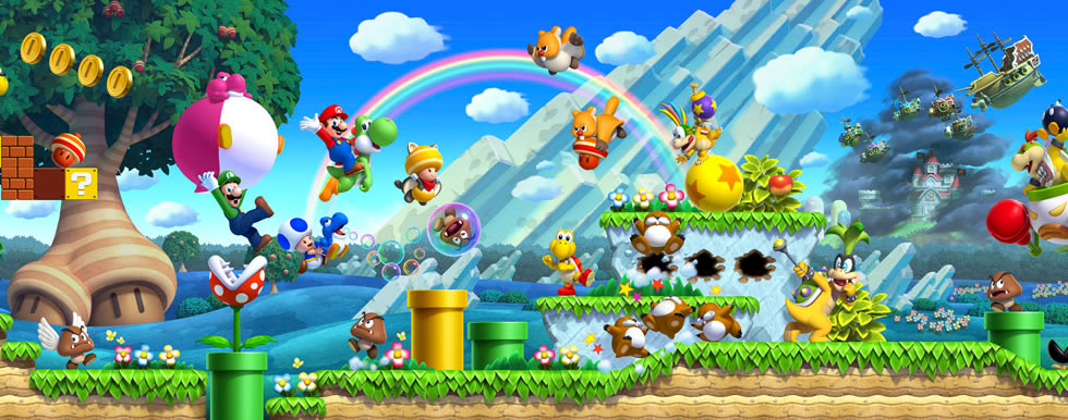 New super mario bros u screenshots and artwork nintendotoday - Amis de mario ...