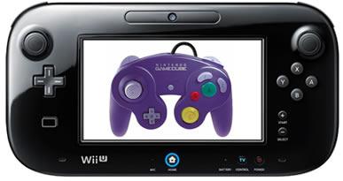 Wii U GamePad and GameCube