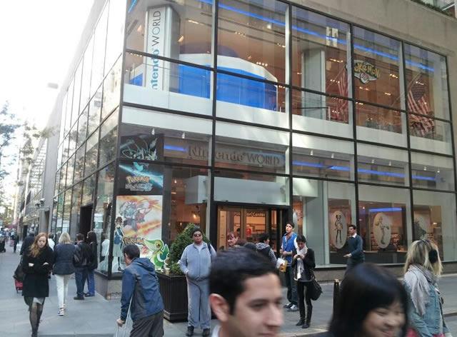 Wii U at Nintendo World Store
