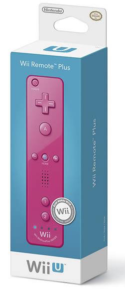Wii U pink wiimote