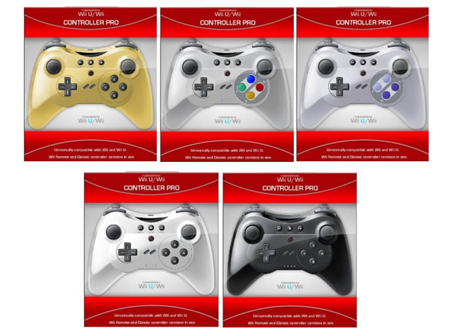 more third party wii u pro controllers revealed. Black Bedroom Furniture Sets. Home Design Ideas