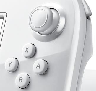 Wii U closeup