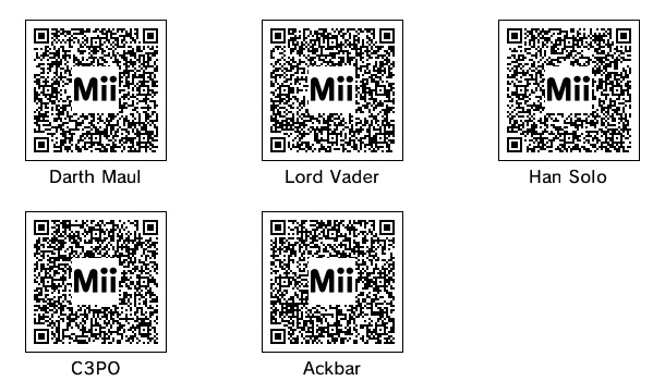 Dantdm Qr Code Mii List: Want Some Miis For That Miiverse Of Yours?