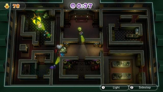 Nintendo Land Luigi's Ghost Mansion
