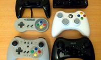 Controller Pro U with SNES, Wii U Pro, Xbox 360, Wii classic and Wii remote