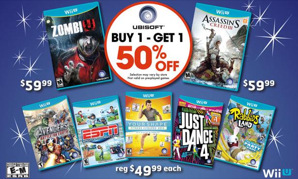 Gamestop Wii U Deals