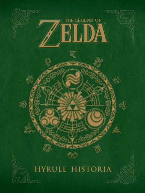 Hyrule Historia Book Cover