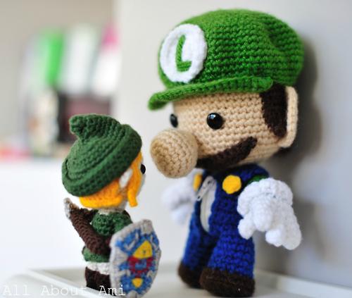 Amigurumi Super Mario and Luigi Crochet Patterns – FREE AMİGURUMİ ... | 423x500