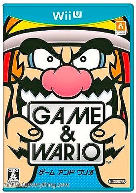 Game Wario Wii U box art