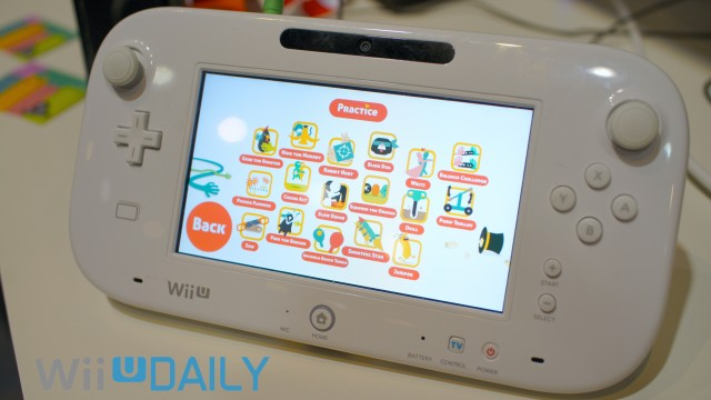Spin the Bottle Wii U Mini Games