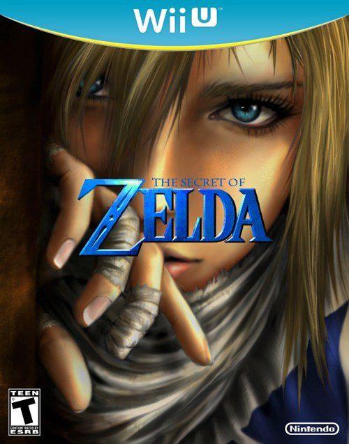 Zelda Wii U box art concept