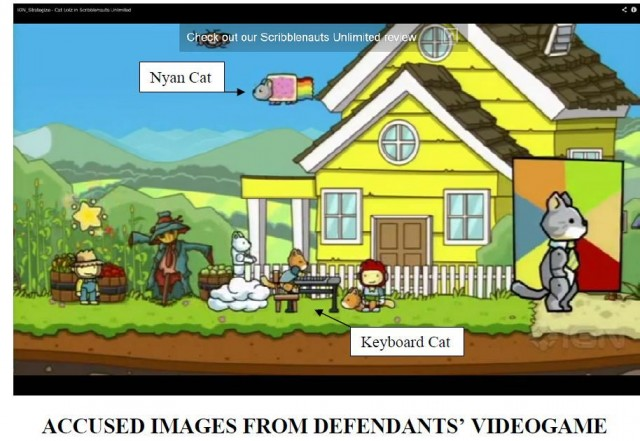 copyright-attorney-trademark-sue-nyan-cat-keyboard-cat-Scribblenauts