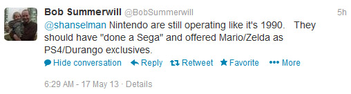 Wii U tweets 2