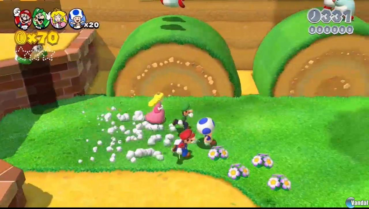 Princess Peach wasn't playable in Super Mario 3D World ...