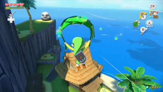 Aonuma says he will use elements of Wind Waker HD in next