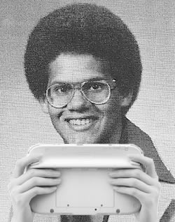 Reggie retro Wii U
