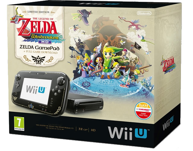 Wii U Zelda Wind Waker HD bundle
