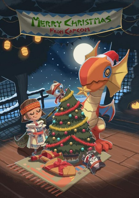 Monster Hunter Christmas Card