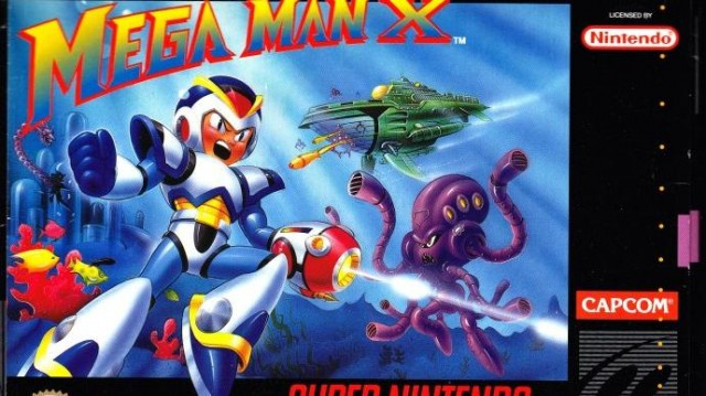 Mega Man X Box Art