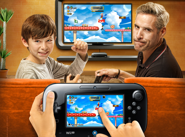 Wii U Father and Son