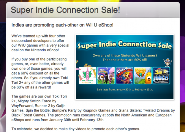 super indie connection sale